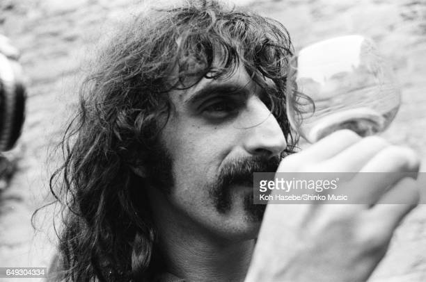 Frank Zappa at a photo session during a music festival June 24th 1970