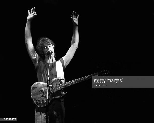 Frank Zappa at the Memorial Auditorium in Sacramento California on November 18 1977