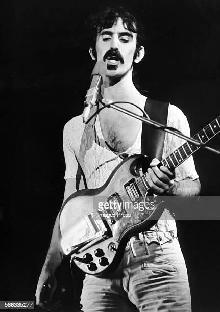Frank Zappa circa 1970s in New York City
