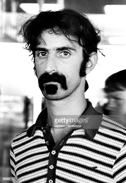 Frank Zappa from The Mothers Of Invention posed at Schiphol Airport in Amsterdam Netherlands on December 06 1970