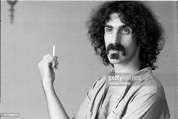 Frank Zappa portrait London 1973