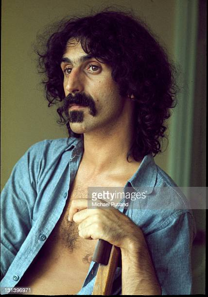Frank Zappa portrait London 1973