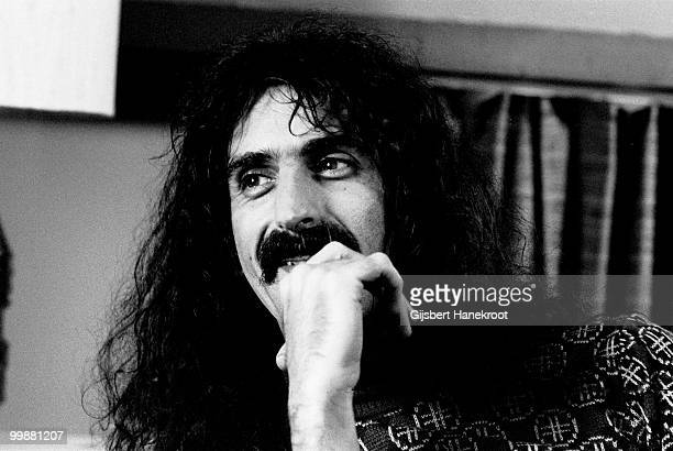 Frank Zappa posed in Amsterdam Netherlands on March 06 1976