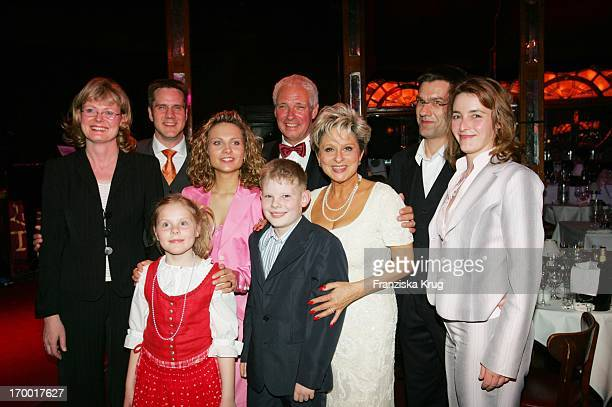 Franka Keberwein, husband Hendri, children Julius and Emily, Maxi Frederic, Dagmar Frederic, Klaus Lenk, Felicia Hagen and Heiko Hagen at 60th...