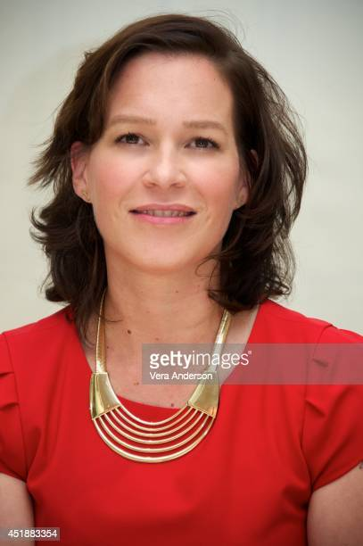 "Franka Potente at ""The Bridge"" Press Conference at the Four Seasons Hotel on July 7, 2014 in Beverly Hills, California."