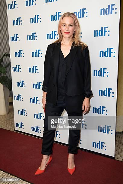 Franka Potente attends the 'Der IslandKrimi Der Tote im Westfjord' premiere at Astor Film Lounge on October 13 2016 in Berlin Germany