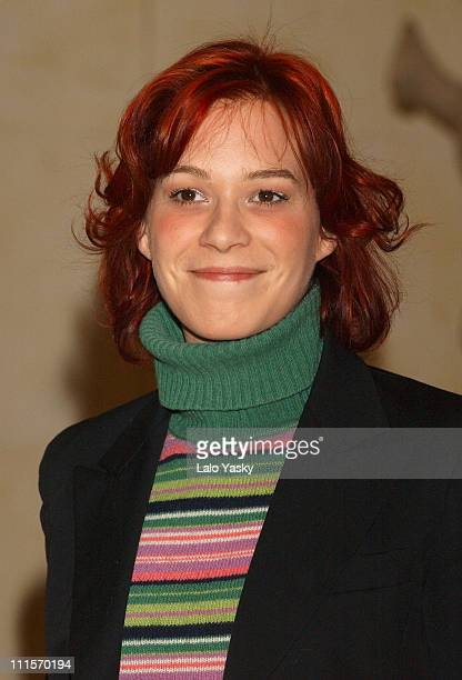 "Franka Potente during Franka Potente Promotes the Film ""Creep"" - Photocall at Ritz Hotel in Madrid, Spain."