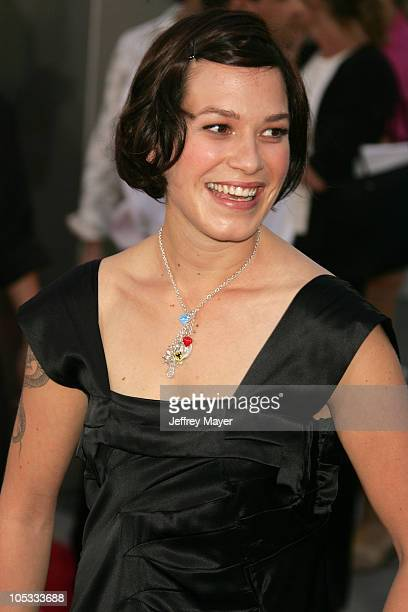 "Franka Potente during ""The Bourne Supremacy"" World Premiere - Arrivals at ArcLight Cinema in Hollywood, California, United States."