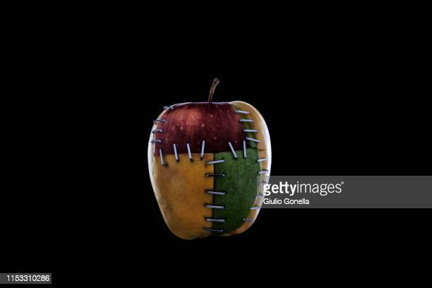 frankenstein apple - frankenstein imagens e fotografias de stock