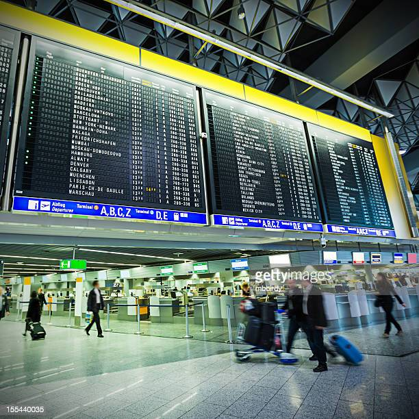 Frankfurt Airport, (Frankfurt am Main, Germany)