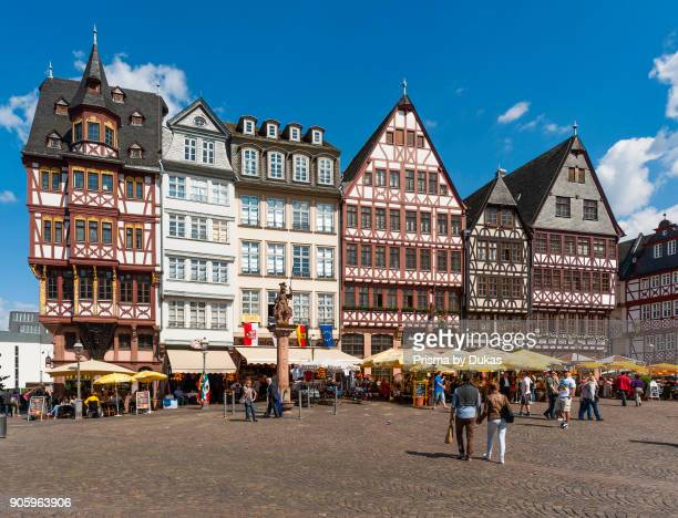 Frankfurt am Main Hesse GermanyHistorische H_user Ostzeile R_merberg