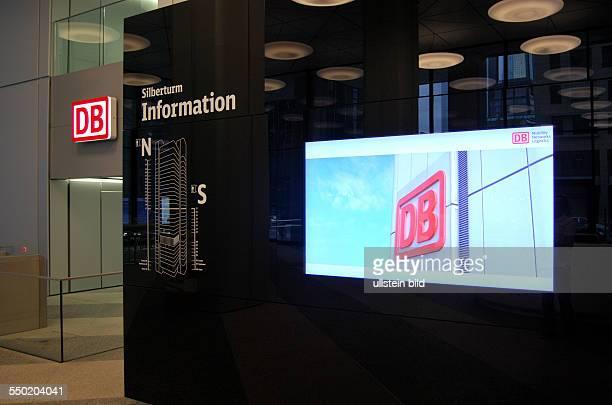 Frankfurt am Main Silberturm Nach einer umfassenden Sanierung nutzt seit 23 April 2012 die Deutsche Bahn mit dem konzerneigenen ITDienstleister DB...