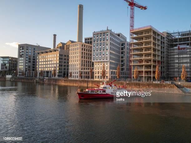 Frankfurt am Main, Westhafen area.