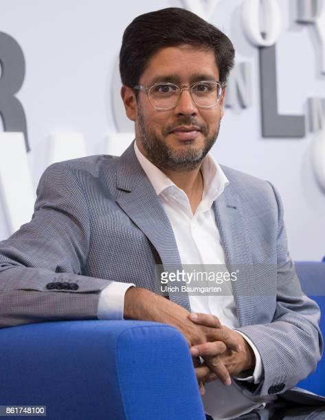 Frankfurt Book Fair 2017 Hasnain Kazim German writer during an interview