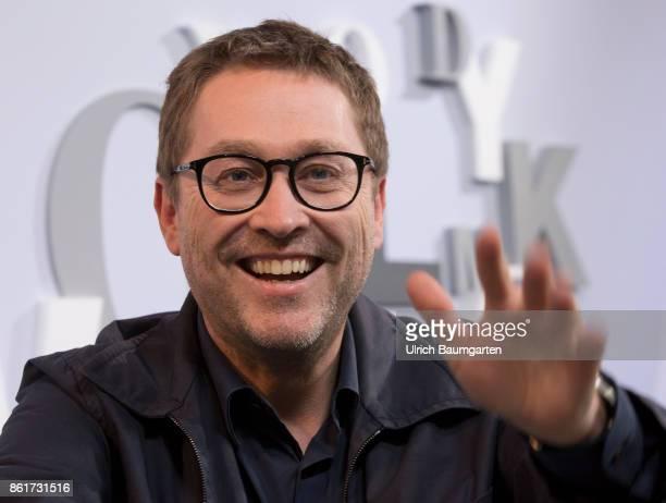Frankfurt Book Fair 2017 Jan Weiler German author and journalist during an interview