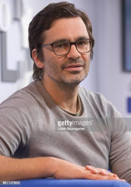 Frankfurt Book Fair 2017 Nicol Ljubic German writer and journalist during an interview