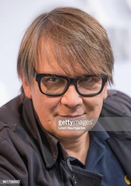 Frankfurt Book Fair 2017 Sven Regener German musician and author during an interview