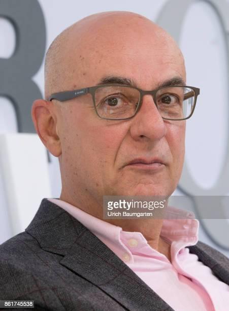Frankfurt Book Fair 2017 Thomas Medicus German journalist and author during an interview