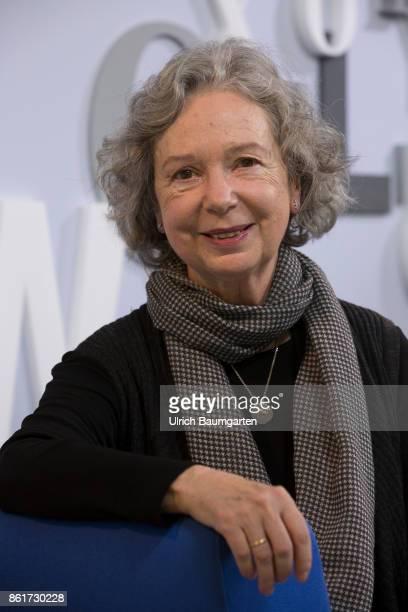 Frankfurt Book Fair 2017 Ulla Hahn German writer during an interview