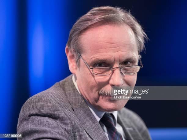 Frankfurt Book Fair 2018 Georg Cremer German author during an interview