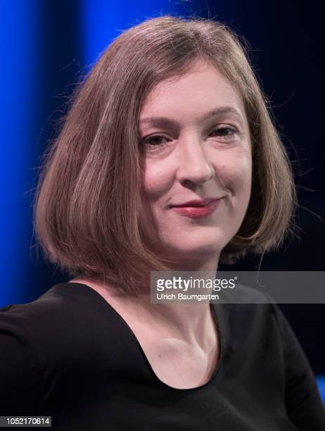 Frankfurt Book Fair 2018 IngerMaria Mahlke German author