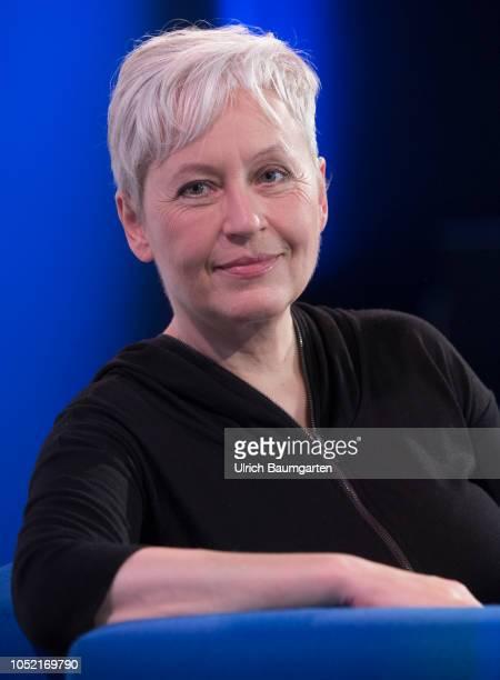 Frankfurt Book Fair 2018 Ulrike Dreassner German writer