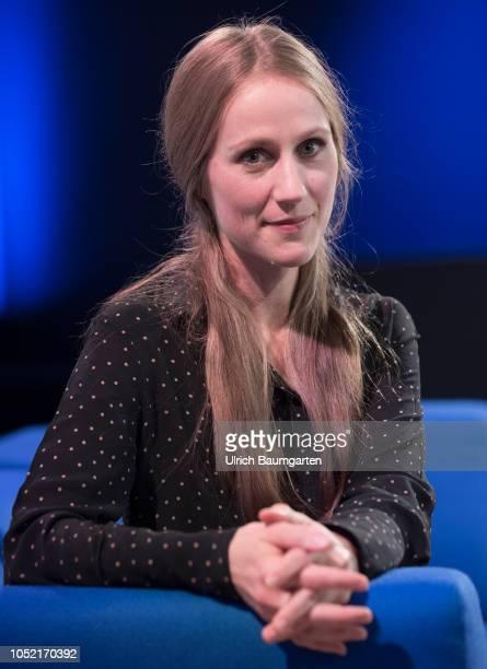 Frankfurt Book Fair 2018 Verena Rossbacher Austrian writer