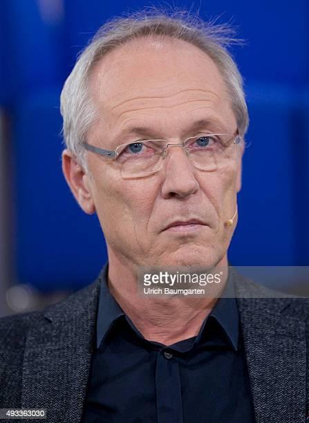 Frankfurt Book Fair Jörg Baberowski German historian during an interview with book launch
