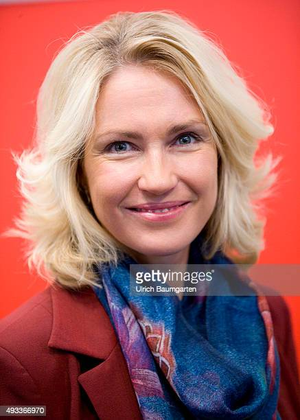 Frankfurt Book Fair Manuela Schwesig German politician and writer