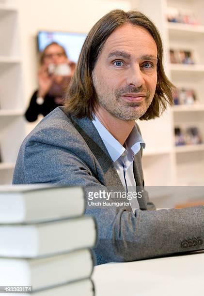 Frankfurt Book Fair Richard David Precht during an interview with book launch
