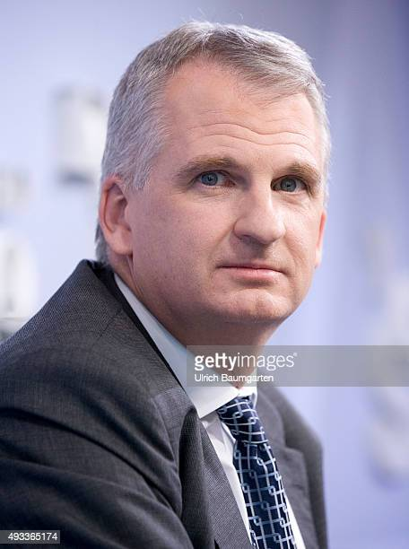 Frankfurt Book Fair Timothy Snyder USAmerican historian during an interview with book launch