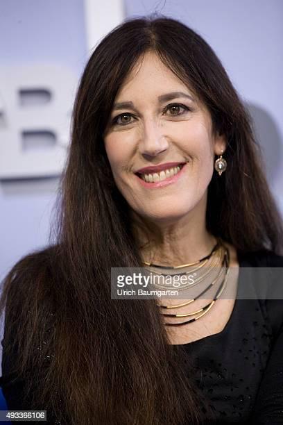 Frankfurt Book Fair Zeruya Shalev Israeli writer during an interview with book launch