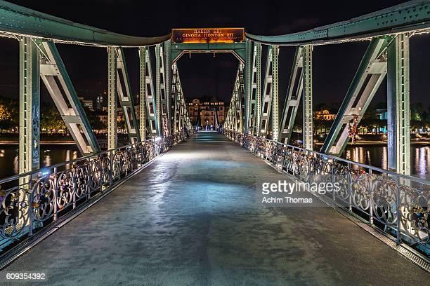 Frankfurt, Germany - Historic Bridge 'Eiserner Steg'