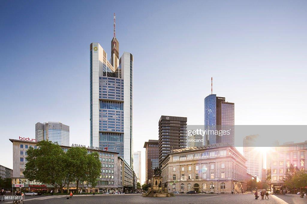 Frankfurt Goetheplatz : ストックフォト