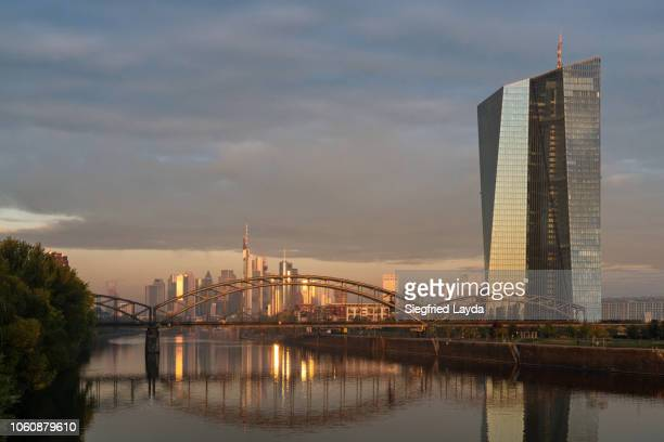 frankfurt - european central bank stock pictures, royalty-free photos & images
