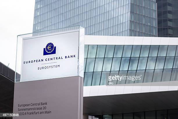 ecb frankfurt - european central bank stock pictures, royalty-free photos & images