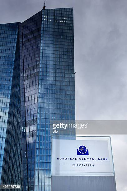ecb frankfurt - european central bank stock photos and pictures