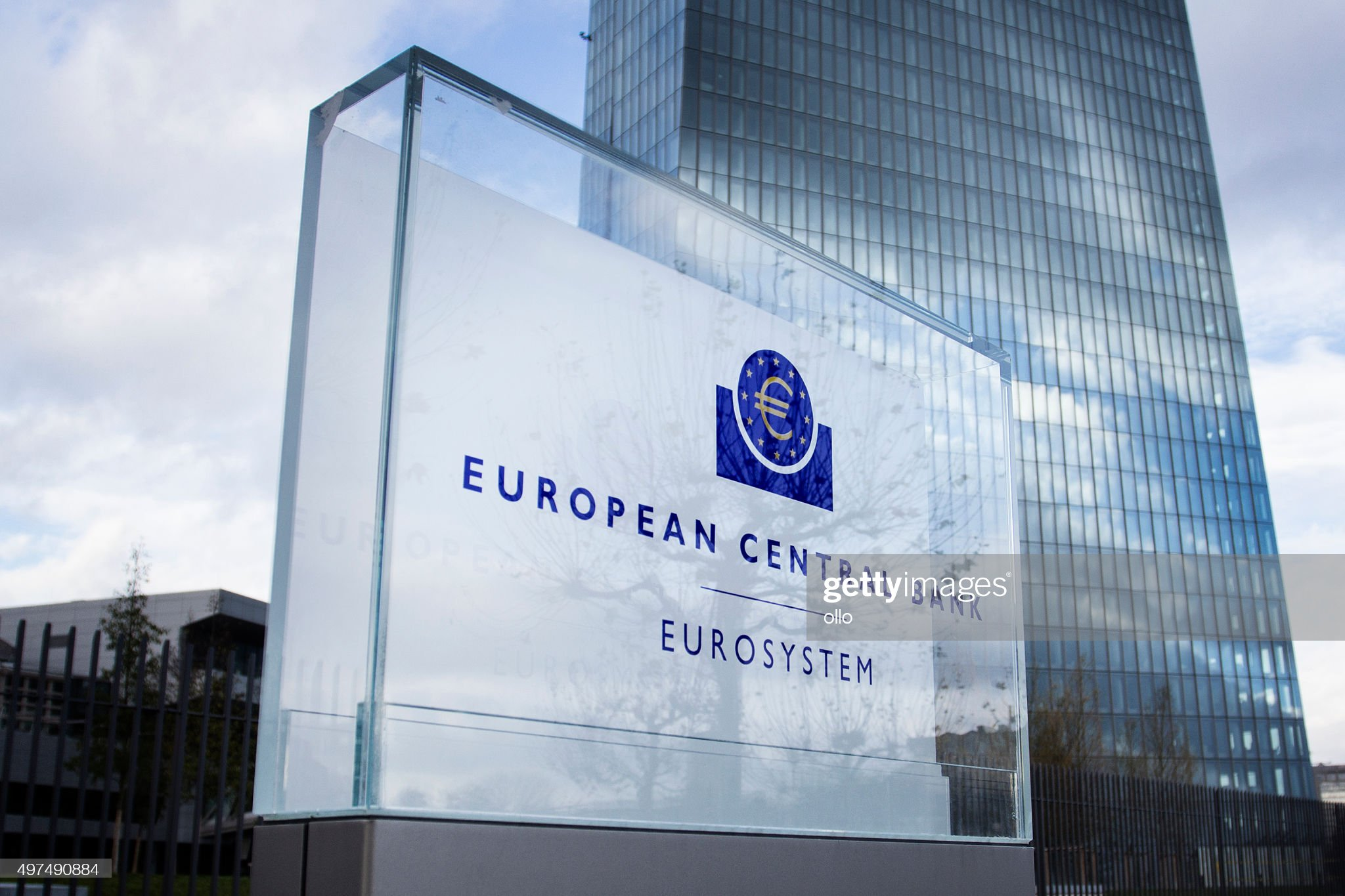 ECB Frankfurt : Stock Photo