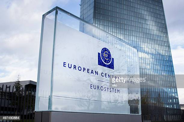 ecb frankfurt - central bank stock pictures, royalty-free photos & images