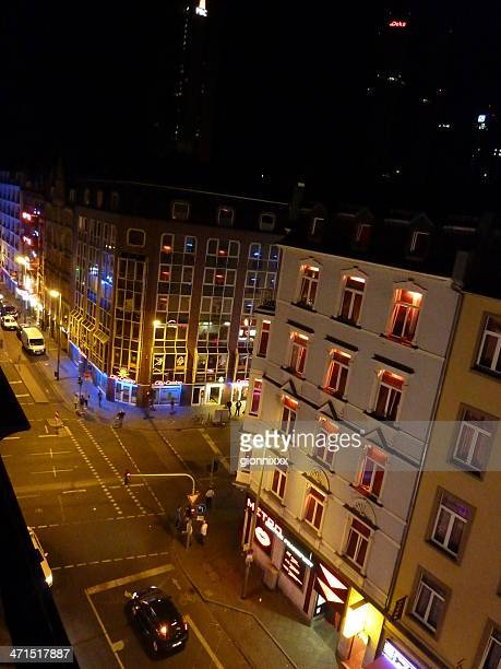 frankfurt red light district - frankfurt red light district stock-fotos und bilder
