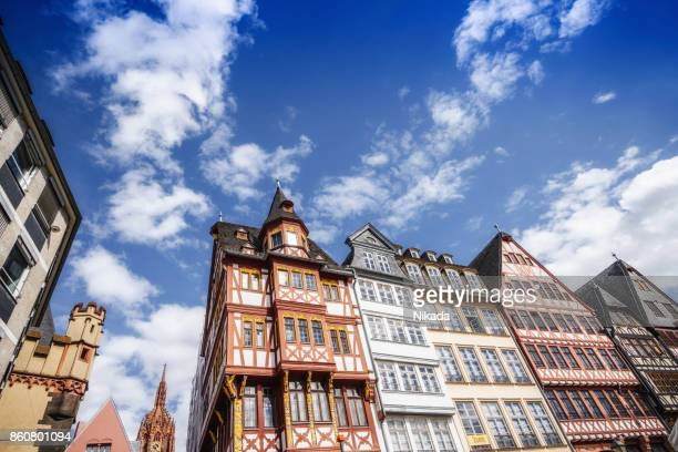 Frankfurt Römer, Old Town Square in Frankfurt, Germany