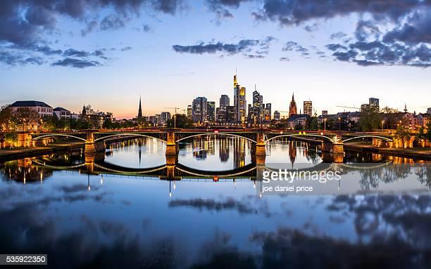 Frankfurt, Skyline, Large Panorama, Hessen, Germany