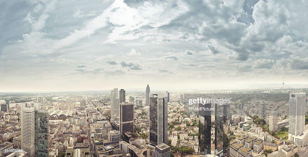 Frankfurt Skyline : Stock-Foto