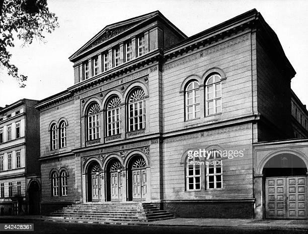 Frankfurt/Oder Das Stadttheatererbaut von Karl Friedrich Schinkel1842um 1920