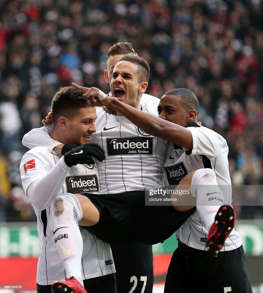 Eintracht Frankfurt Vs FC Schalke 04