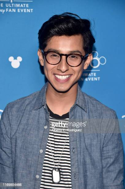 Frankie A Rodriguez of 'High School Musical The Musical The Series' took part today in the Disney Showcase at Disney's D23 EXPO 2019 in Anaheim Calif...