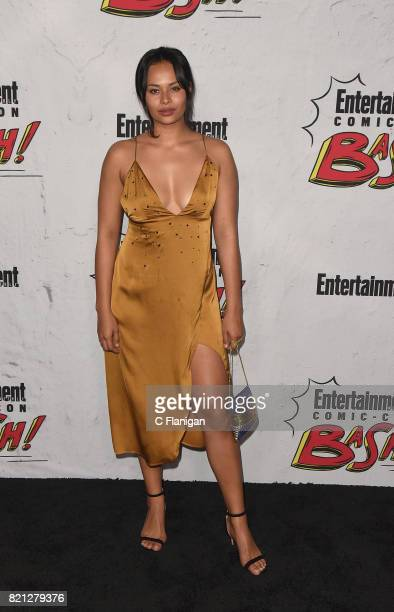 Frankie Adams attends the Entertainment Weekly's Annual ComicCon Party 2017 at Float at Hard Rock Hotel San Diego on July 22 2017 in San Diego...