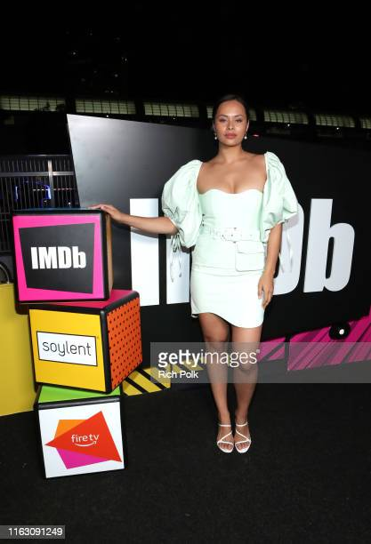 Frankie Adams attends the #IMDboat Party presented by Soylent and Fire TV at San Diego ComicCon 2019 at the IMDb Yacht on July 19 2019 in San Diego...