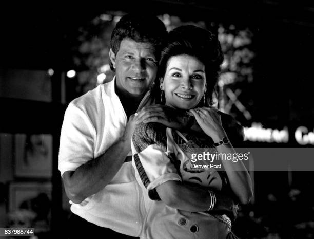 Frankie Avalon and Annette Funicello outside the Fairmont Hotel Credit The Denver Post