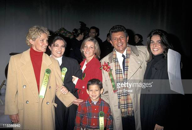 Frankie Avalon and family during 62nd Annual Hollywood Christmas Parade at Hollywood, CA in Hollywood, CA, United States.